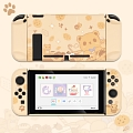 Brown Nintendo Switch Shell Protection Cover - Cookies Bear