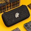 Black Mysterious Pyramid Nintendo Switch Carrying Case - 10 Game Cards Holding