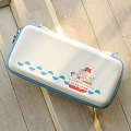 White Sailor Bear Nintendo Switch Carrying Case - 10 Game Cards Holding