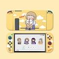 Orange Nintendo Switch Lite Shell Protection Cover - Milk Tea Girl
