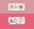 Cute Cartoon Princess Nintendo Switch Carrying Case - 12 Game Cards Holding
