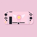 Pink Cardcaptor Sakura Switch Shell Protection Cover