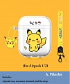 Lovely Pokemon Pikachu Duck Transparent Airpod Case | Silicone Case for Apple AirPods 1, 2, Pro
