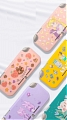 Lovely Avocado Unicorn Sailor Moon Bear Flowers Drinks Switch Lite Shell Protection Cover