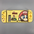 Yellow Mario Switch Shell Protection Cover