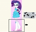 Rarity Shoes (2nd) from My Little Pony Friendship is Magic