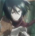 Shingeki no Kyojin Mikasa Ackerman Traje (Recon Corps)