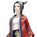 Final Fantasy XIV Fuga Haori Cosplay