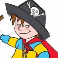 Horrid Henry (Pirate Version) Cosplay Costume from Horrid Henry