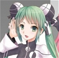 Vocaloid Miku Hatsune Costume (Two Faced Lovers)